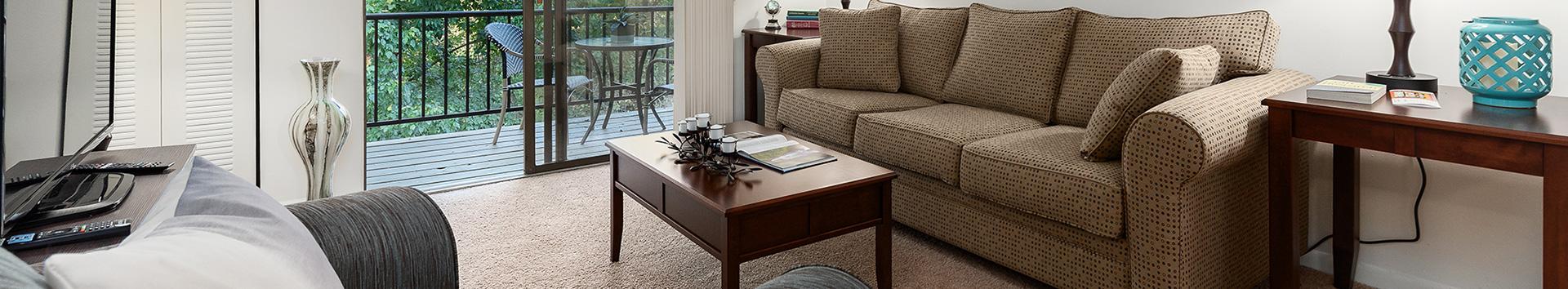 Room Interior view of Roxalana Hills Apartments at Manor Communities, Charleston/West Virginia